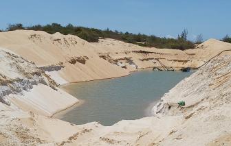 Dự án của Free Land ở Bà Rịa - Vũng Tàu chưa duyệt quy hoạch vì khai thác cát trái phép