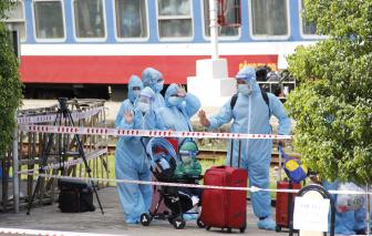 Quảng Trị đón 384 người dân lưu trú tại TP.HCM  về quê bằng tàu hỏa
