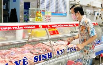 Nguồn cung, giá thịt heo tại TPHCM không biến động