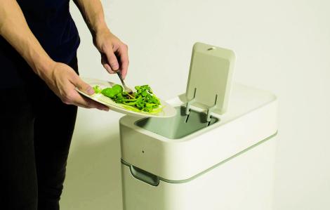 Biến rác thực phẩm thành phân bón hữu cơ