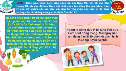 """""""Hỏi - đáp về phòng, chống dịch COVID-19"""" trên fanpage của Hội, quyên góp sách truyện cho trẻ em khu phong tỏa, cách ly"""