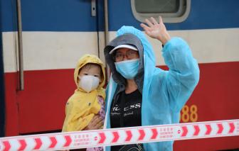 376 công dân Thừa Thiên - Huế từ TPHCM về quê an toàn trên chuyến tàu 0 đồng