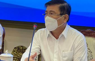 """Chủ tịch UBND TPHCM: """"Số ca nhiễm đang tăng chậm lại"""""""