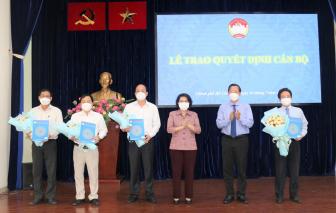 Công nhận các chức danh Phó chủ tịch Ủy ban Mặt trận Tổ quốc Việt Nam TPHCM