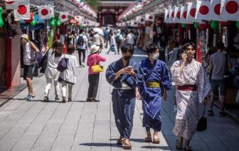 Nhật Bản có 10.000 ca mắc COVID-19 trong 1 ngày giữa mùa Olympic