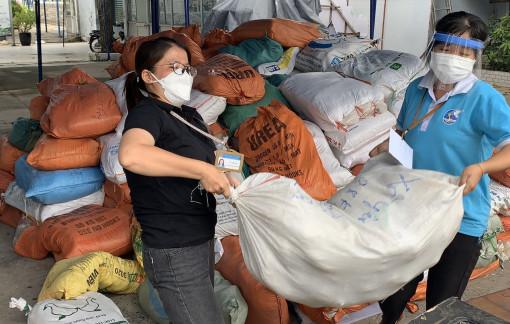 Hội LHPN TPHCM tiếp nhận và phân bổ 39 tấn hàng hóa, thực phẩm