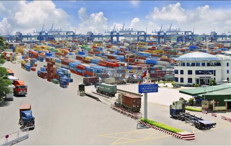 Cảng Cát Lái dừng tiếp nhận cotainer vì quá đầy