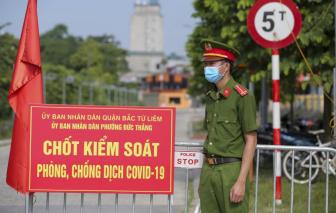Hà Nội: Không để người dân ra khỏi TP trong thời gian giãn cách, khẩn tìm người đến chợ Đồng Xa