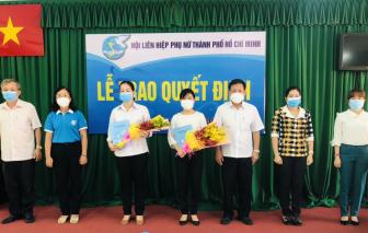Hội LHPN huyện Củ Chi có tân Chủ tịch và Phó chủ tịch
