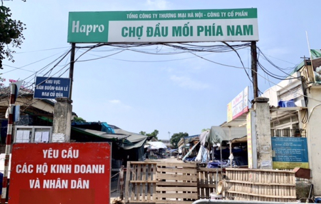 Hà Nội di dời các chợ bị đóng cửa ra những khu đất trống