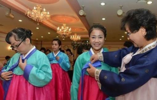 Những cô dâu ngoại quốc thành danh ở xứ sở kim chi