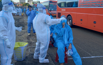 Phú Yên tổ chức đón thêm 600 công dân từ TPHCM về quê