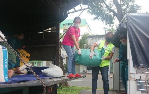 19 tấn gạo và rau củ từ Quảng Nam hỗ trợ TP. HCM