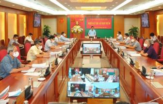 Ủy ban Kiểm tra Trung ương họp xem xét, kết luận một số nội dung quan trọng