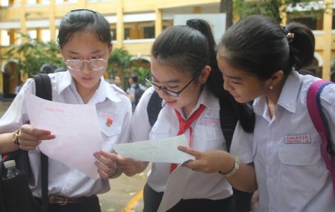 Ngày 8/8, TPHCM công bố điểm xét tuyển của học sinh xét tuyển vào lớp 10