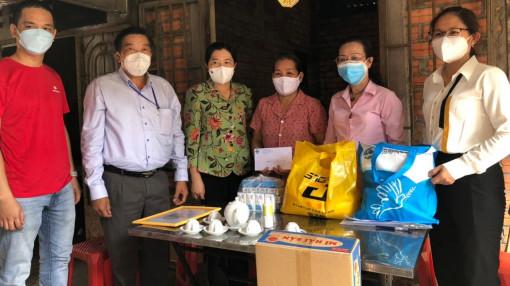 Hỗ trợ 200 gia đình khó khăn, ảnh hưởng dịch bệnh