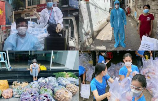 Hàng chục tấn gạo nghĩa tình trong dịch bệnh