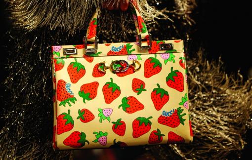 Thời trang và sức hút từ rau quả