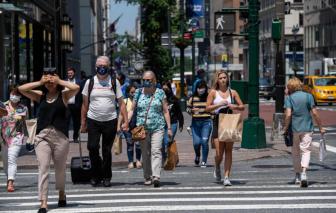 Mỹ: Số ca mắc COVID-19 đạt mức cao nhất trong 6 tháng, biến thể Delta tiếp tục lan rộng