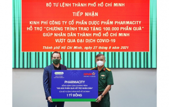 """Công ty cổ phần Dược phẩm Pharmacity góp 1 tỷ đồng cho chương trình """"100.000 phần quà hỗ trợ nhân dân"""""""