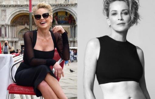 Tuổi 63 của Sharon Stone - biểu tượng sexy của điện ảnh thế giới