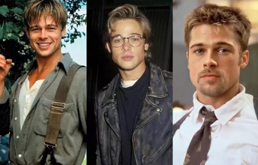 Loạt kiểu tóc ''đốn tim'' phái nữ của tài tử Brad Pitt