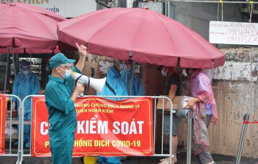 Ngày 12/9, đợt dịch thứ tư đã vượt 600 ngàn ca nhiễm