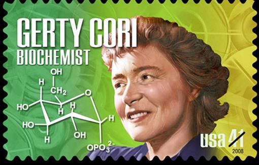 Gerty Cori - người được đặt tên trên… mặt trăng