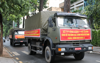 TPHCM tiếp nhận 10 tấn gạo từ Bộ Tư lệnh Vùng 1 Hải quân