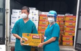 Trao tặng 150.000 hộp sữa cho các bệnh nhân COVID-19 tại TPHCM