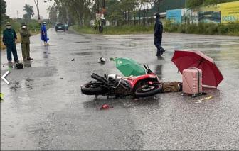 Hà Nội: 2 người đi xe máy tử vong, nghi do sét đánh