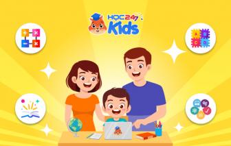 HOC247 Kids đồng hành cùng học sinh TPHCM học online miễn phí