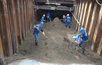 1.300 công nhân sẵn sàng thi công lại dự án Metro số 1