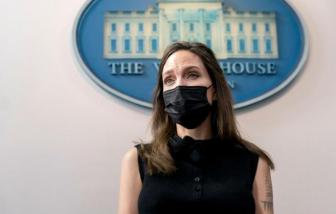 Angelina Jolie họp với Nhà Trắng bàn về Đạo luật chống bạo lực đối với phụ nữ