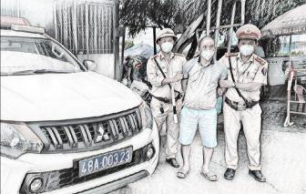 Một đối tượng truy nã toàn quốc bị bắt giữ thông qua kiểm soát xe luồng xanh