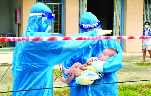 Cưu mang những đứa trẻ côi cút trong đại dịch