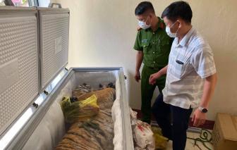 Lại phát hiện hổ trong tủ lạnh nhà dân ở Hà Tĩnh