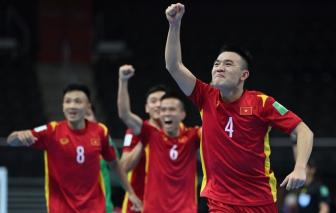 Đội tuyển futsal Việt Nam vào vòng 1/8 World Cup