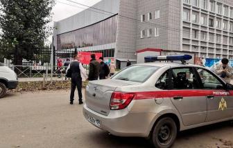 Xả súng ở Nga: Ít nhất 8 người tại một trường đại học thiệt mạng