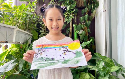 Tập đoàn Bất động sản An Gia tổ chức chương trình vẽ tranh Trung thu cho bé
