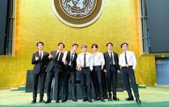 BTS truyền tải thông điệp hy vọng tại Liên Hiệp Quốc
