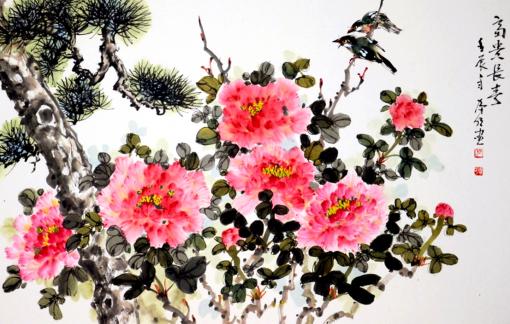 Vĩnh biệt họa sĩ Trương Hán Minh: Hoa mẫu đơn sẽ còn ngát hương dài lâu