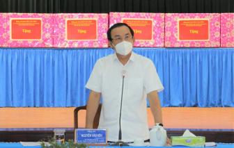 Bí thư Thành ủy TPHCM Nguyễn Văn Nên: Phát huy hệ thống y tế ở từng địa phương!