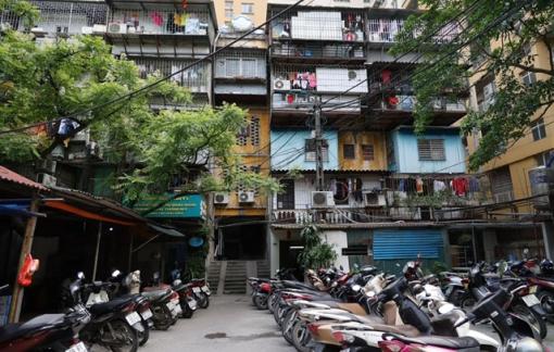 Hà Nội tập trung xây dựng lại chung cư cũ