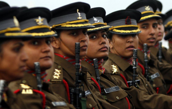 Nữ quân nhân Ấn Độ có thể thăng tiến ở cấp bậc cao nhất