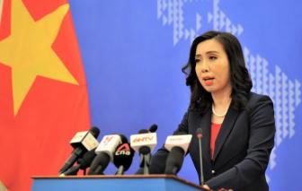 Việt Nam phản đối Trung Quốc điều máy bay quân sự ra Biển Đông