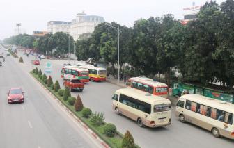 Xe buýt, taxi ở Nghệ An được hoạt động trở lại