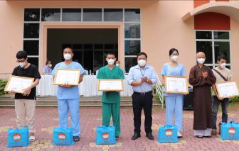 147 tình nguyện viên tôn giáo hoàn thành đợt hỗ trợ lực lượng y tế ở tuyến đầu