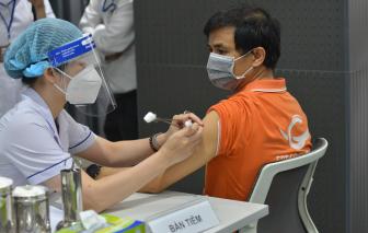 TPHCM sẽ rút khoảng cách giữa 2 mũi tiêm vắc xin AstraZeneca xuống tối thiểu 6 tuần