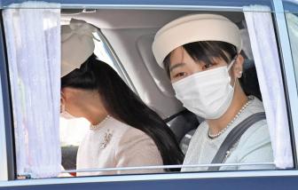 Chính phủ Nhật chấp nhận quyết định từ chối hồi môn hoàng gia của Công chúa Mako